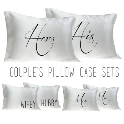 His Hers Pillows